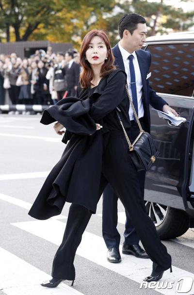 Park Sol Mi - vợ tài tử Han