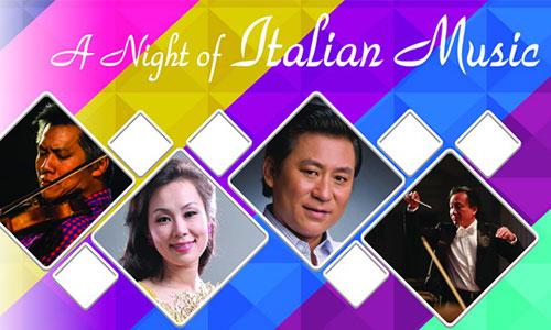 Đêm nhạc Italy sắp diễn ở TP HCM