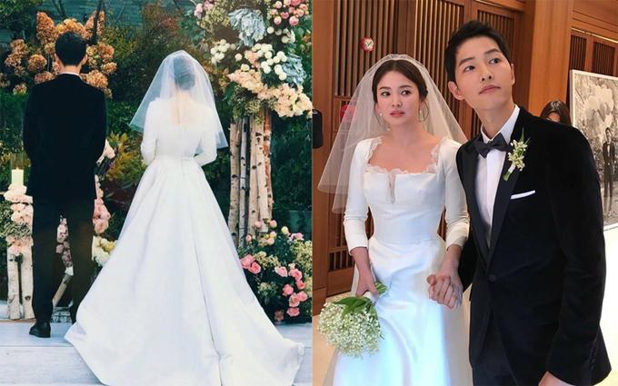 Thời Trang: Váy cưới từ bình dân đến xa xỉ của mỹ nhân châu Á