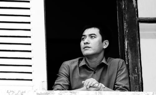 Nhà văn Văn Thành Lê.