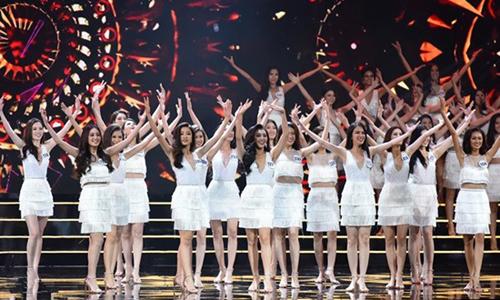 Cuộc thi Hoa hậu Hoàn vũ Việt Nam 2017 tổ chức đêm bán kết giữa tình hình bão lũ gây phản cảm với dư luận.
