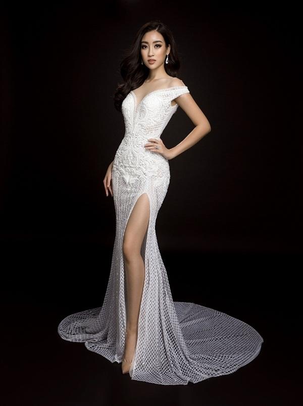 Sao Việt: Ba đầm dạ hội hoa hậu Mỹ Linh mang đến Miss World