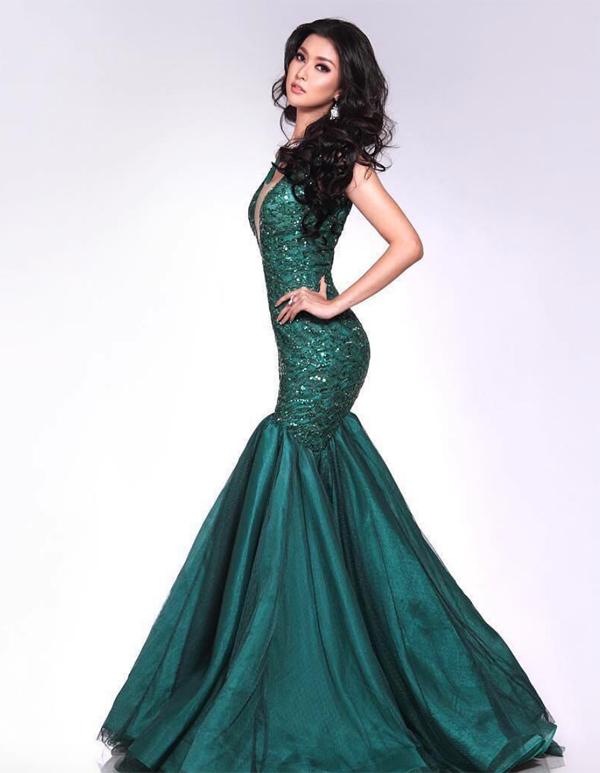 Vẻ đẹp Á Đông của tân Hoa hậu Quốc tế