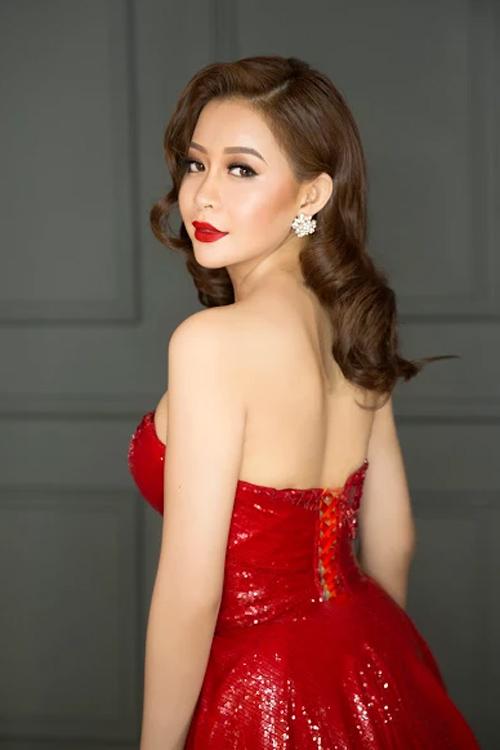 Hoa hậu Hải Dương làm giám khảo cuộc thi nhan sắc quốc tế