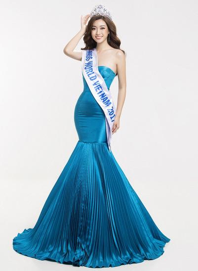 Hoa hậu Việt Nam 2016 - Đỗ Mỹ Linh - đang dự thi tại cuộc thi Miss World 2017 được tổ chức tại Trung Quốc. Người đẹp sinh năm 1996, cao 1,71 m với  số đo ba vòng là 87-60-94. Sau khi đăng quang, cô tích cực tham gia các hoạt động xã hội. Dự án thiện nguyện của cô vào top 20 của Miss World 2017. Cô cũng đang dẫn đầu bảng bình chọn online.