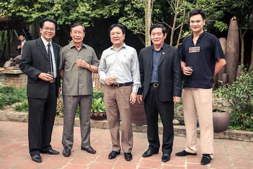 NSND Vương Duy Biên khai mạc triển lãm cá nhân