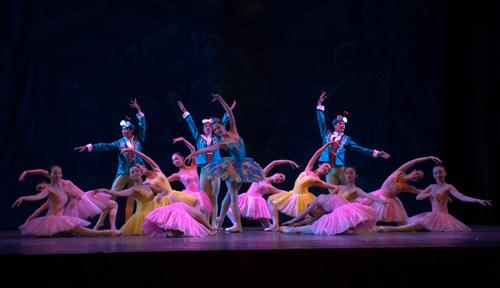 Ballet Kep dat de tai ngo khan gia TP HCM