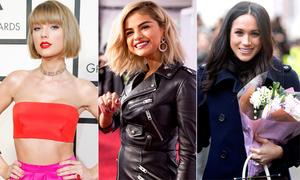 Những gương mặt nổi bật làng giải trí thế giới 2017