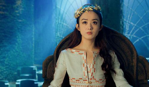 Triệu Lệ Dĩnh được chọn đóng vai chính trong bom tấn Tây du ký: Nữ Nhi Quốc, ra mắt vào dịp Tết Âm lịch 2018.