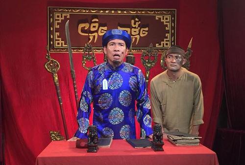 Quang Thắng là một trong những diễn viên ăn khách trong các dự án phim hài vào dịp cận Tết.