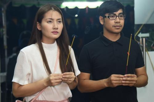 Võ Tòng, bé An của Đất Phương Nam viếng nghệ sĩ Nguyễn Hậu - ảnh 12
