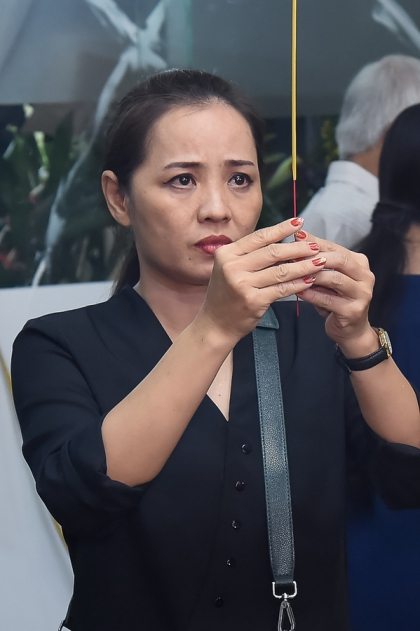 Võ Tòng, bé An của Đất Phương Nam viếng nghệ sĩ Nguyễn Hậu - ảnh 13