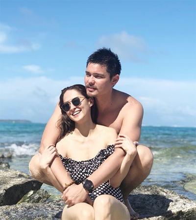 Marian Rivera và Dingdong Dantes dành nhiều thời gian cho các kỳ nghỉ tại những hòn đảo ở