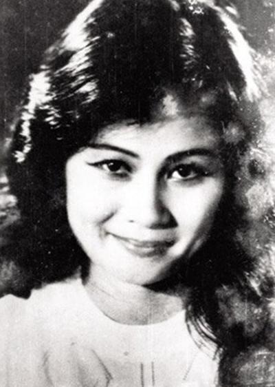 Nghệ sĩ nhân dân Tuệ Minh khi còn trẻ.