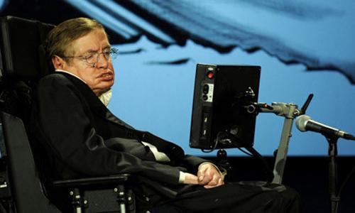 Thiên tài vật lý Stephen Hawking.