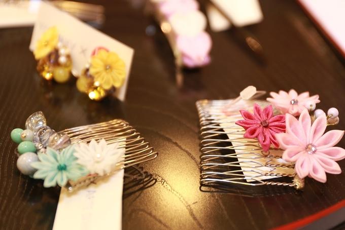 Người Sài Gòn học nghệ thuật xếp hoa vải Nhật Bản