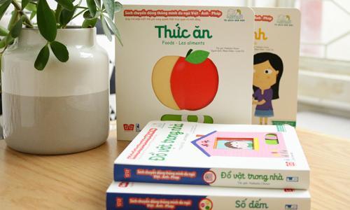 Kididoc vừara mắt 23 cuốn tại Việt Nam, tám cuốn còn lại đang trong quá trình hoàn thiện.