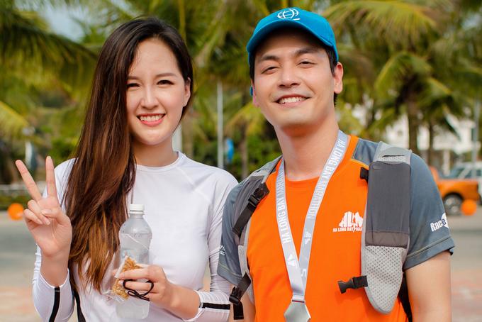 Mai Phương Thúy chạy bộ góp quỹ từ thiện