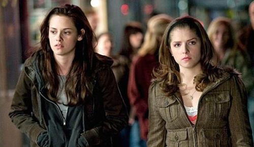 Anna Kendrick và Kristen Stewart trong Twilight.