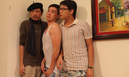 NSƯT Trung Anh (trái) trong Ngự lâm không kiếm.