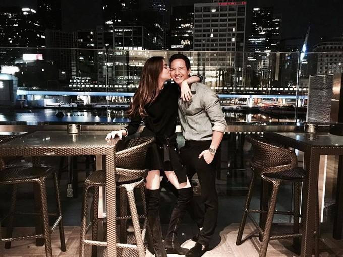 Những khoảnh khắc bên nhau của Kim Lý, Hồ Ngọc Hà
