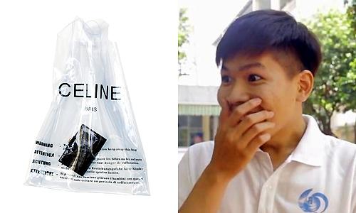 Giới trẻ Sài Gòn nói về trào lưu xách túi nylon giá chục triệu - Giải Trí