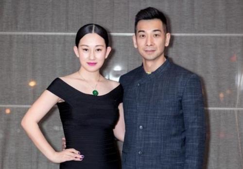 Triệu Văn Trác và vợ - diễn viên, người mẫu Trương Đan Lộ.