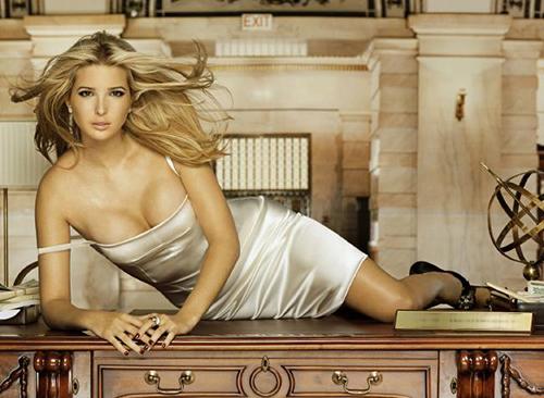 Vẻ nóng bỏng của cựu người mẫu Ivanka trump.