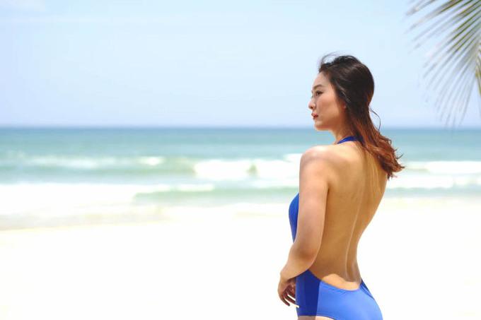 Á hậu châu Á tận hưởng nắng gió Đà Nẵng
