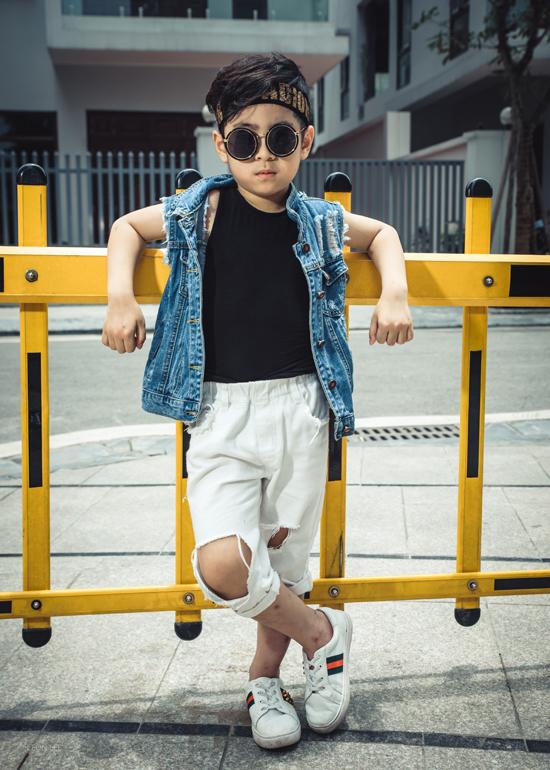 Con gái Minh Tiệp cùng dàn mẫu nhí gợi ý đồ mùa hè