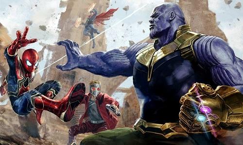 Với sáu viên đá Vô cực, Thanos dễ dàng đánh bại dàn người hùng.