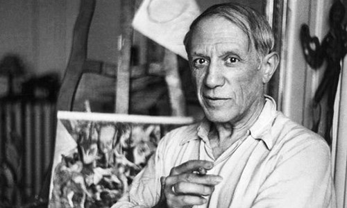 Danh họa Picasso.