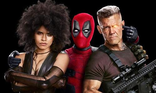 Domino (trái) và Cable (phải) mang đến màu sắc mới cho phim.