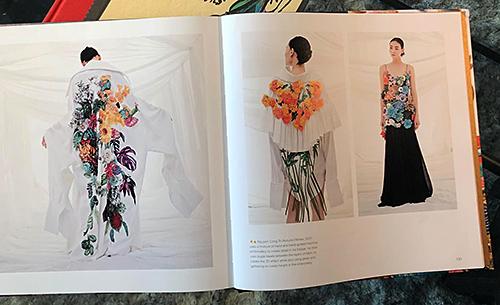 Thiết kế của Công Trí được đưa vào sách thời trang thế giới - ảnh 2