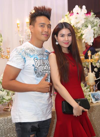 Vợ chồng Tuấn Hưng mừng đám cưới Lâm Vũ và người đẹp Việt kiều - ảnh 7