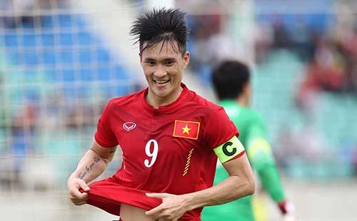 Lê Công Vinh giữ băng đội trưởng tuyển quốc gia Việt Nam.