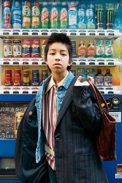 cậu bé nhật 15 tuổi nổi tiếng nhờ phong cách nổi loạn - 1