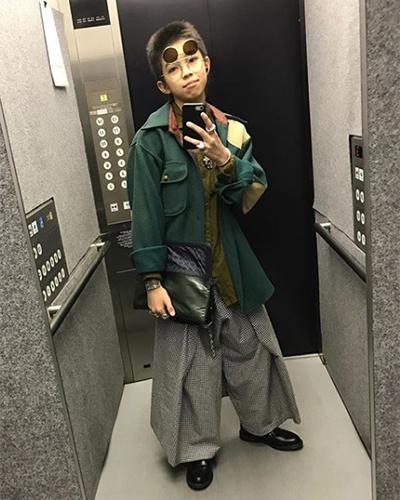 cậu bé nhật 15 tuổi nổi tiếng nhờ phong cách nổi loạn - 9