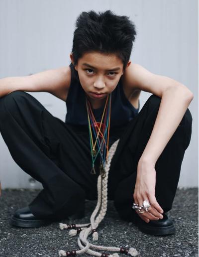 cậu bé nhật 15 tuổi nổi tiếng nhờ phong cách nổi loạn - 4