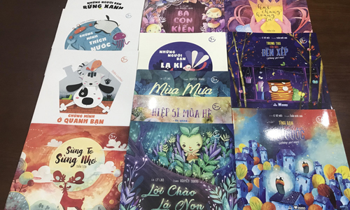 Những cuốn truyện tranh nổi bật dành cho thiếu nhi - 5
