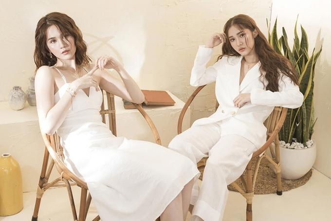 Ngọc Trinh, Quỳnh Hương gợi cảm với thời trang hè