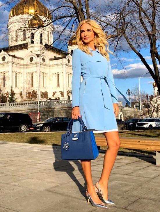 Vẻ nóng bỏng của hoa hậu Nga làm đại sứ quảng bá World Cup