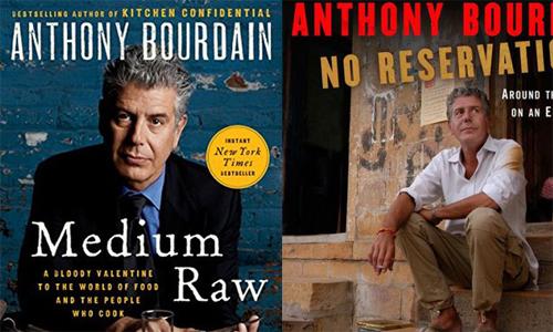 Những cuốn sách nổi bật của đầu bếp Anthony Bourdain...
