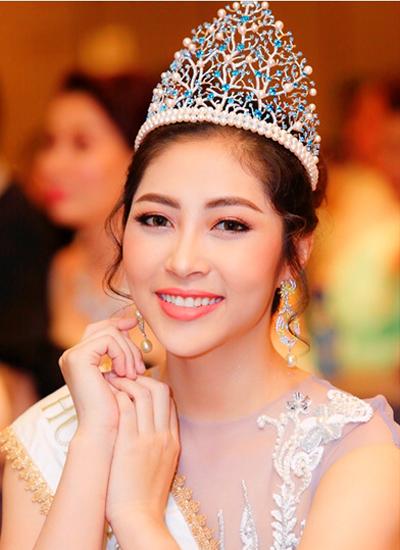 Hoa hậu Đại Dương 2014 - Đặng Thu Thảo.