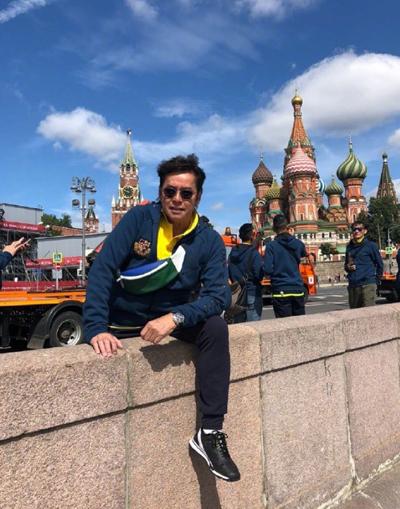 Sao Hoang Phi Hong sang Moskva co vu World Cup