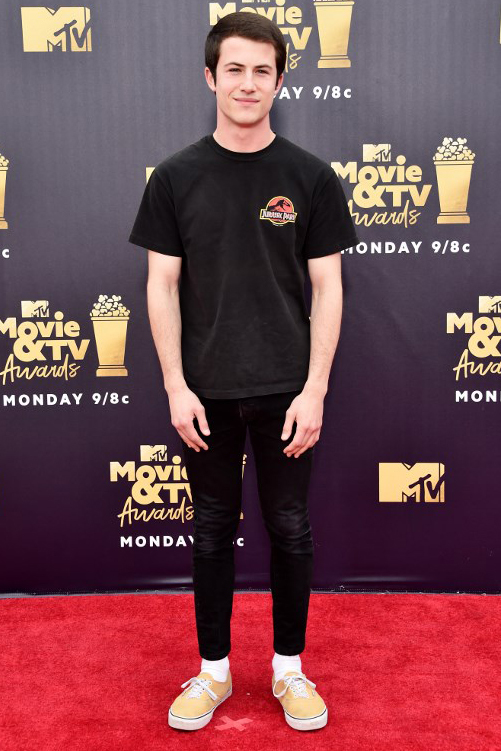 Dan sao chung dien o le trao giai phim anh cua MTV
