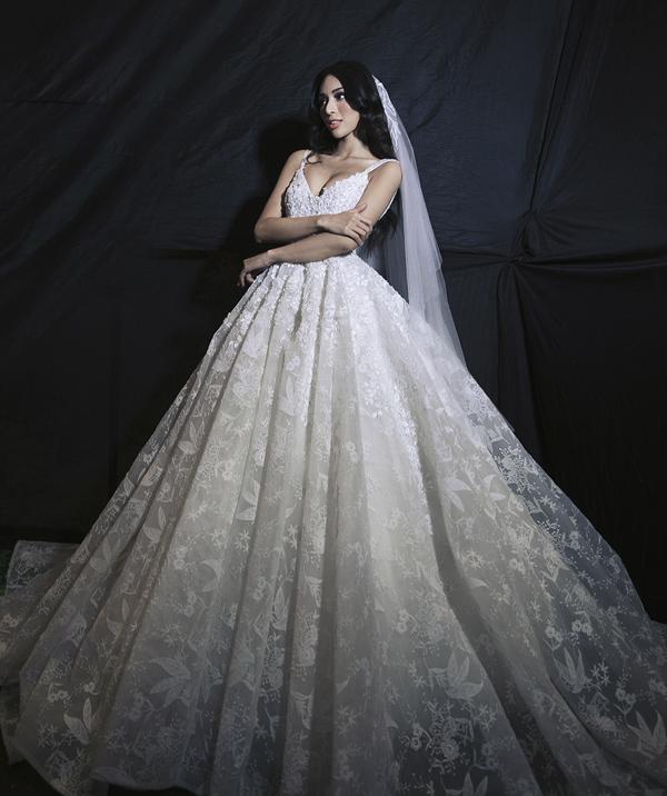 Thùy Dung, Diệu Huyền hóa cô dâu