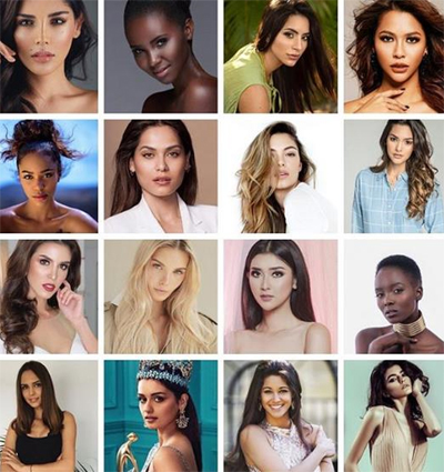 Huyen My truot Top 16 Hoa hau dep nhat the gioi 2017