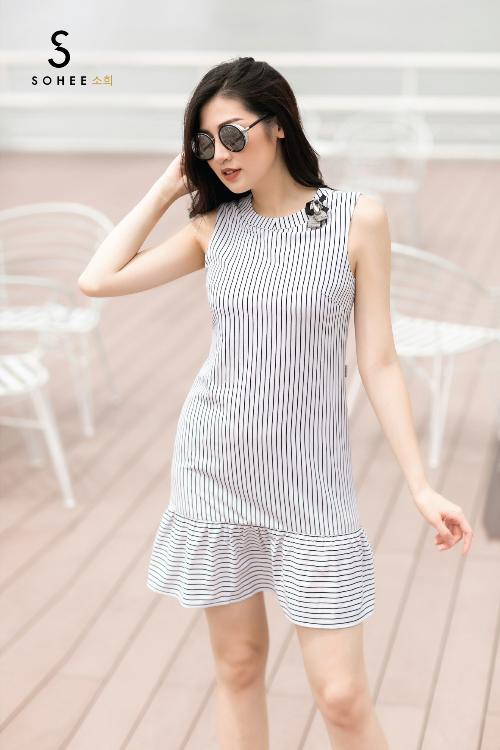 Tú Anh xuống phố với các trang phục của Sohee - 3