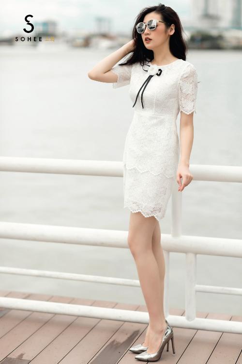 Tú Anh xuống phố với các trang phục của Sohee - 2